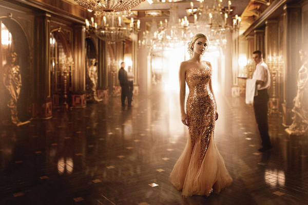 Celebration Photograph - Gold by Sergey Parishkov