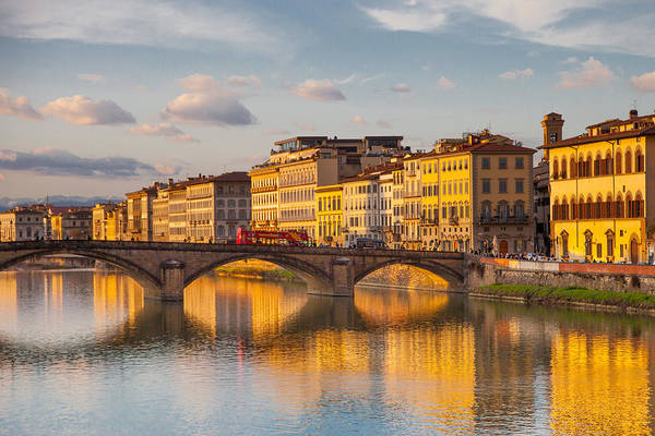Wall Art - Photograph - Golden Afternoon In Florence by W Chris Fooshee