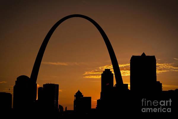 Photograph - Golden Arch by Ryan Heffron
