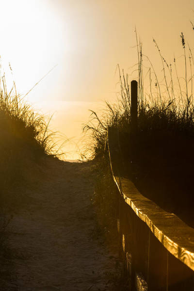 Golden Beach Access Art Print