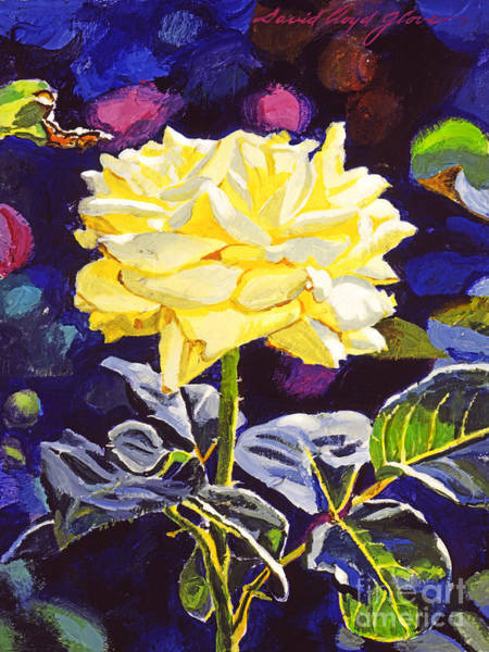 Painting - Golden Beauty by David Lloyd Glover