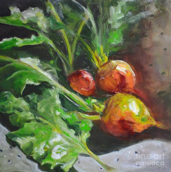 Painting - Golden Beets by Lori Pittenger