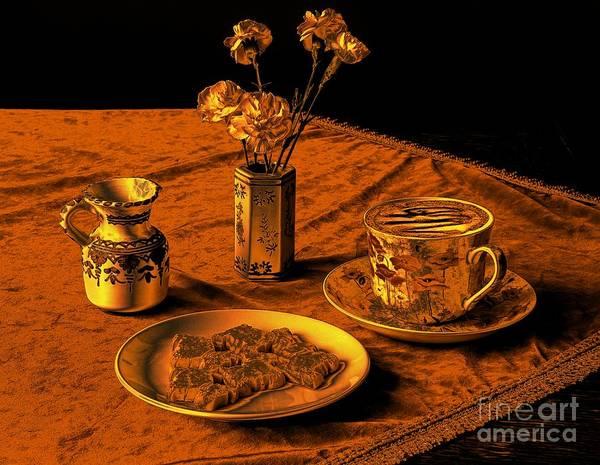 Wall Art - Photograph - Golden Cappuccino by Donald Davis