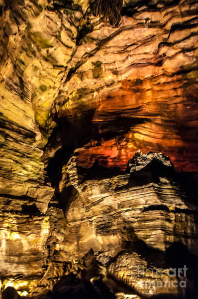 Photograph - Golden Caverns by Anthony Sacco
