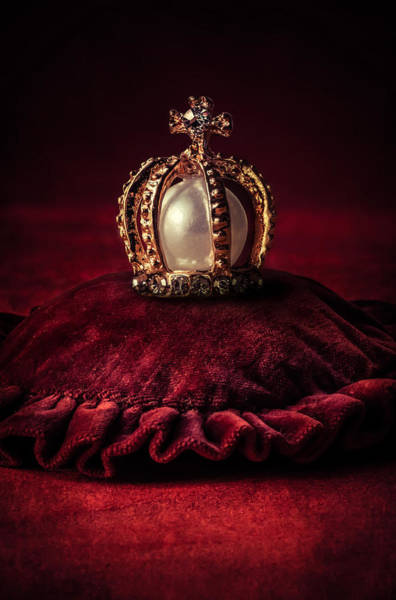 Golden Princess Photograph - Golden Crown by Jaroslaw Blaminsky