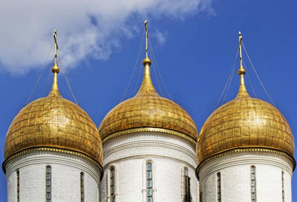 Photograph - Golden Domes by Elena Nosyreva
