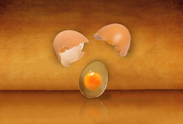 Cooking Digital Art - Golden Droplet by Art Spectrum