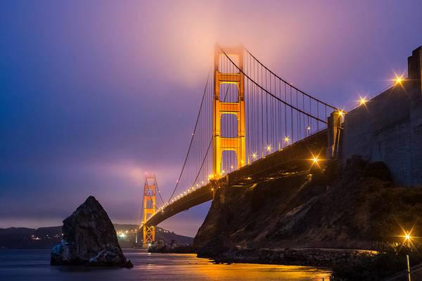 Golden Gate Beauty Art Print