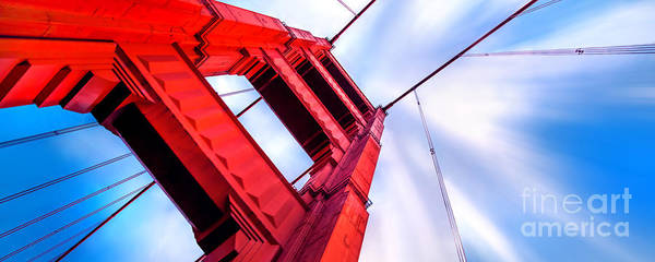 Strength Photograph - Golden Gate Boom by Az Jackson