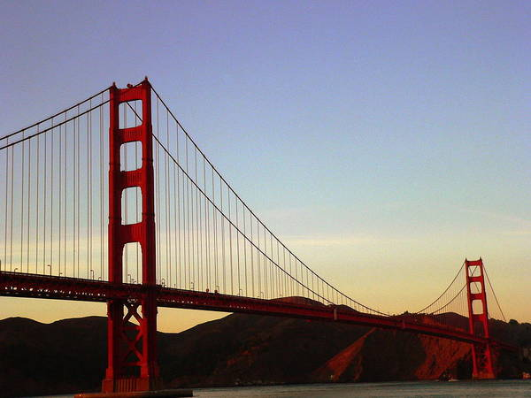 Photograph - Golden Gate Bridge - Close by Jeff Lowe