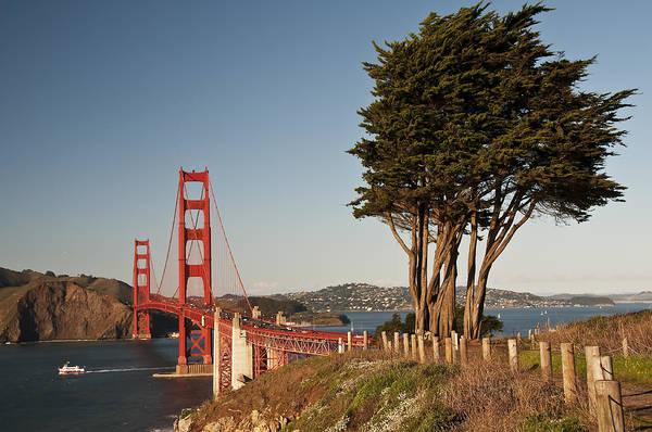 Photograph - Golden Gate Bridge 1 by Lee Kirchhevel