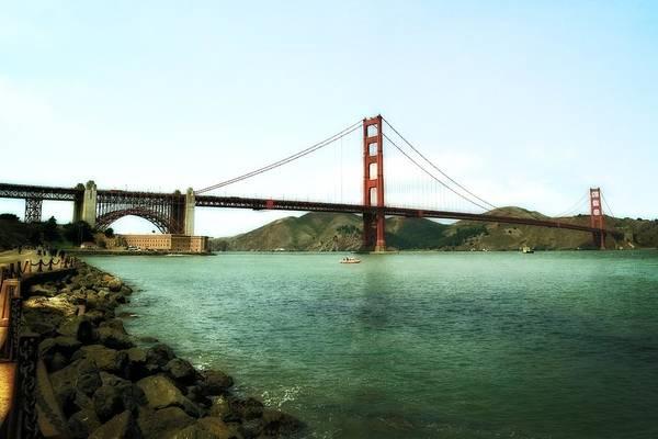 Photograph - Golden Gate Bridge 2.0 by Michelle Calkins