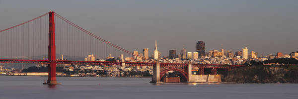 Photograph - Golden Gate Bridge And San Francisco Panoramic by Lee Kirchhevel