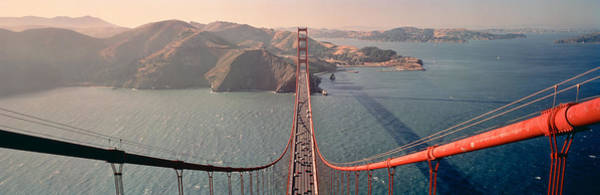 Marin Photograph - Golden Gate Bridge California Usa by Panoramic Images