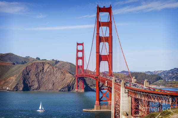 Wall Art - Photograph - Golden Gate Bridge by Colin and Linda McKie