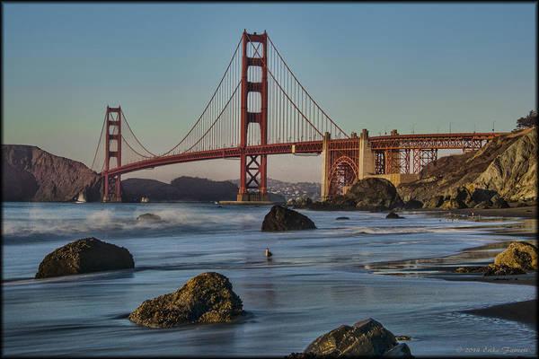 Photograph - Golden Gate Bridge by Erika Fawcett