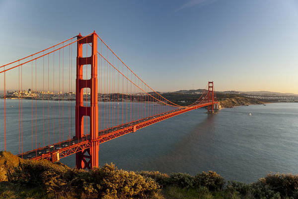 Wall Art - Photograph - Golden Gate Bridge by Francesco Emanuele Carucci