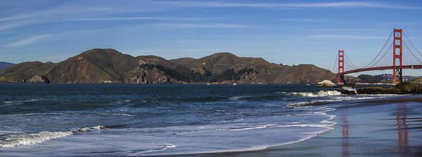 Photograph - Golden Gate Bridge Panorama by Brad Scott