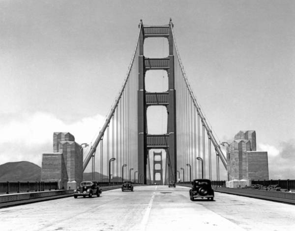 Journalism Wall Art - Photograph - Golden Gate Bridge Preview by Underwood Archives