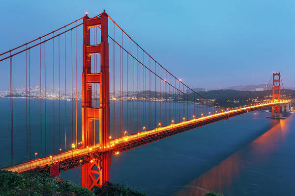 Copy Photograph - Golden Gate Bridge, San Francisco by Deimagine
