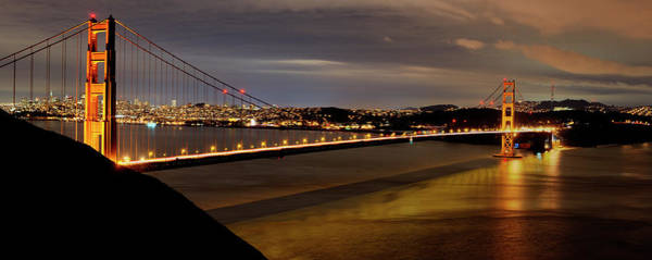 Photograph - Golden Gate Bridge San Francisco by Tony Shi Photography