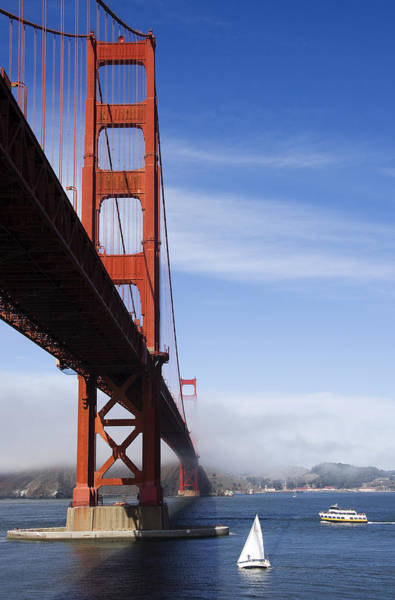 Photograph - Golden Gate Bridge by Susan Leonard