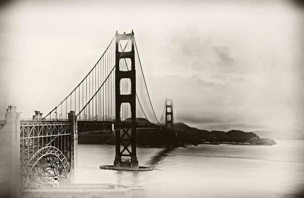 Photograph - Golden Gate Bridge by Tomasz Dziubinski