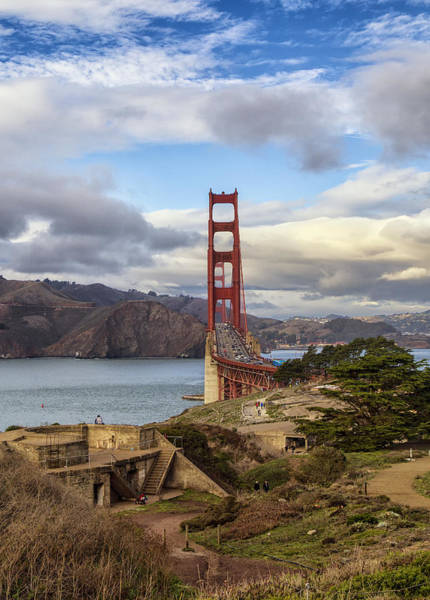 Photograph - Golden Gate By Fort Scott by Michael Hope