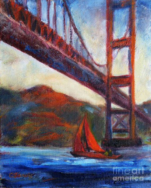 Painting - Golden Gate by Carolyn Jarvis