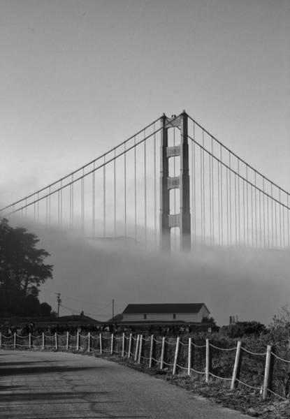 Photograph - Golden Gate Fog by Michael Hope