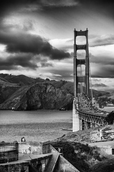 Photograph - Golden Gate From Fort Scott  by Michael Hope