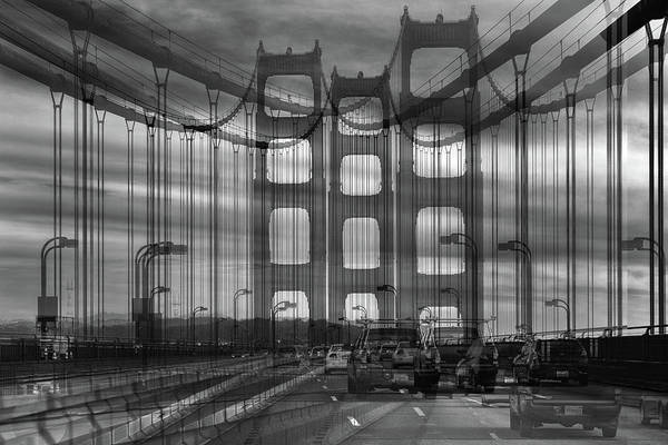 Golden Photograph - Golden Gate by Jois Domont (
