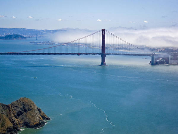 Photograph - Golden Gate View by Russell Todd