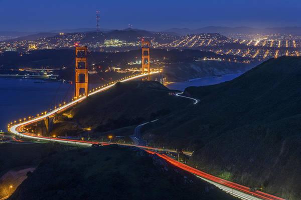 Photograph - Golden Glow by Rick Berk