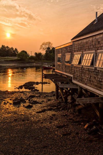 Photograph - Golden Hour Portsmouth New Hampshire by Jeff Sinon