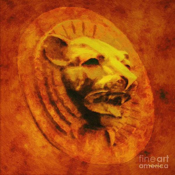 Painting - Golden Idol by RC DeWinter