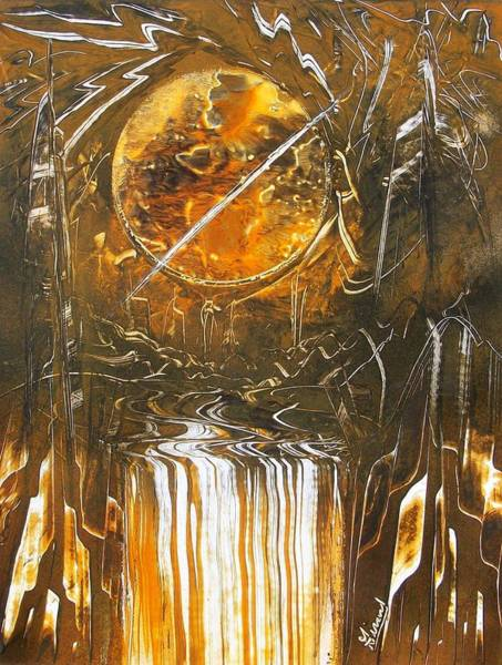 Painting - Golden by Jason Girard