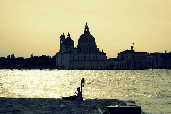 Wall Art - Photograph - Golden Lagoon by Valentino Visentini