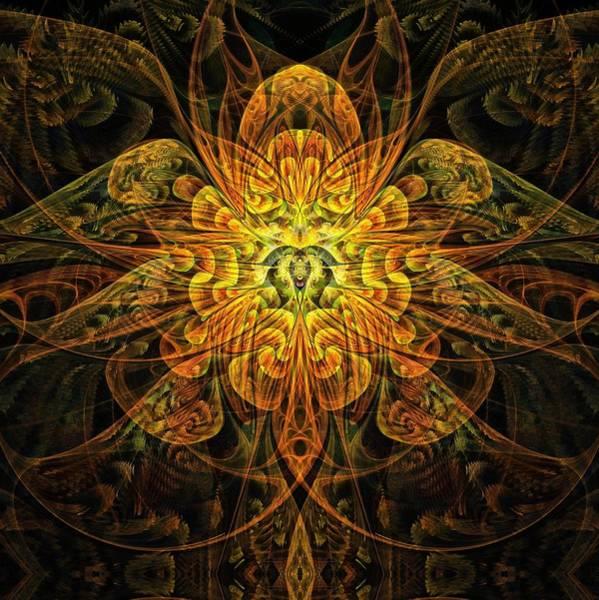 Digital Art - Golden Marigold by Amanda Moore