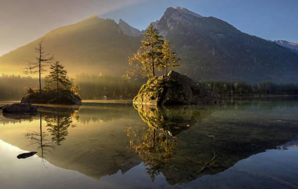 Light Water Photograph - Golden Morning by Keller
