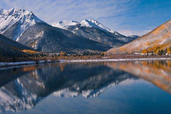 Silverton Photograph - Golden Mountain Majesty by Mike Berenson