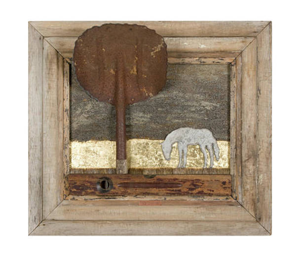 Wall Art - Mixed Media - Golden Pasture by Benjamin Bullins