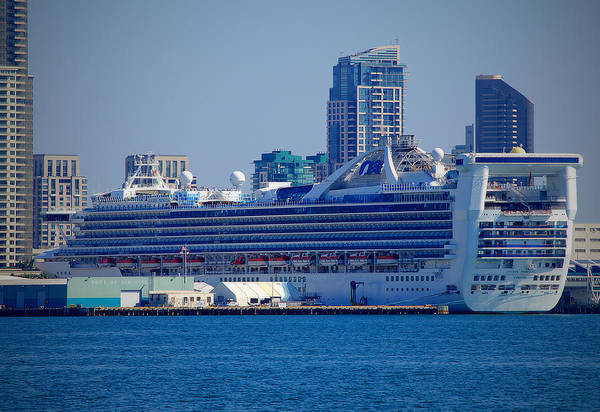 Princess Cruise Lines Photograph - Golden Princess by See My  Photos