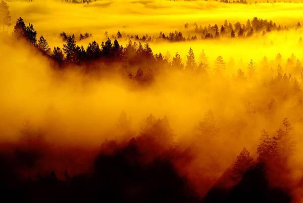 Photograph - Golden Rays Of Dawn Awaken Spokane by Ben Upham III