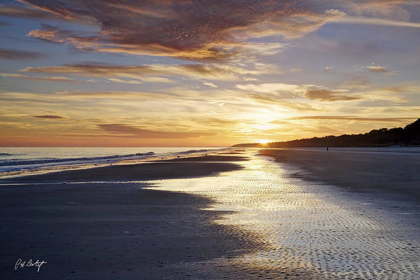 Hilton Head Island Photograph - Golden Sands by Phill Doherty