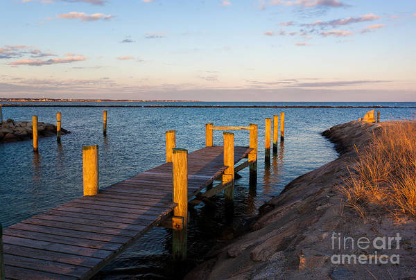 Yarmouth Photograph - Golden Sound by Michelle Constantine