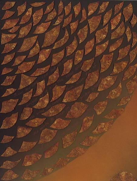 Mixed Media - Golden Splendor by Yolanda Redd