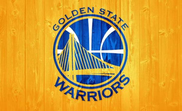 Wall Art - Mixed Media - Golden State Warriors Barn Door by Dan Sproul