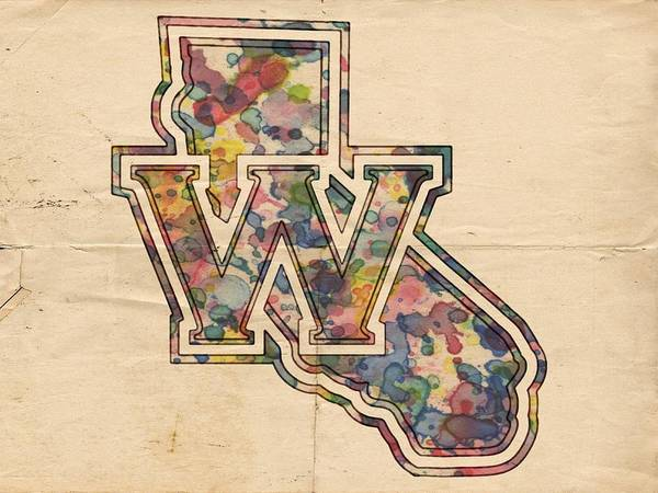 Slamdunk Painting - Golden State Warriors Poster Vintage by Florian Rodarte