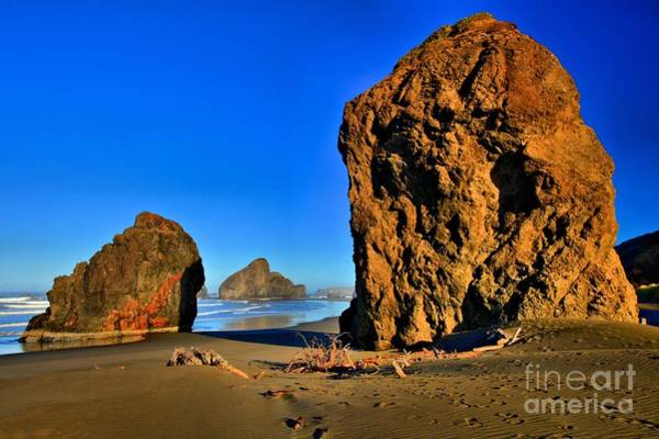 Photograph - Golden Towers Of Bandon by Adam Jewell